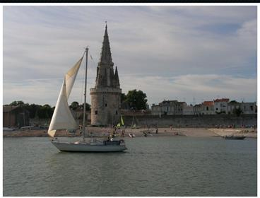 Appartement T4, Terrasse+Balcon -  La Rochelle