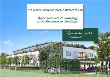 Appartements neufs à Bordeaux-Caudéran Livraison janvier 202...