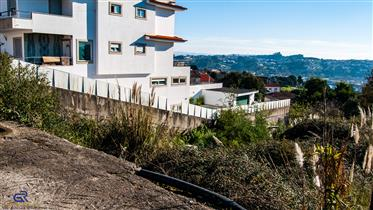 675M2 construction land for house building near Douro river, Valbom