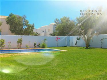 Villa avec piscine 3 chambres houch djerbien moderne