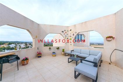 Los Pinos 1-bedroom penthouse apartment, San Miguel de Salinas