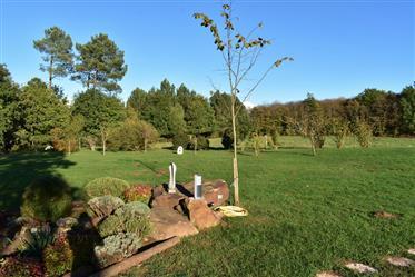 A vendre, en Dordogne, proche de Belvès, belle propriété située très calme, avec vue panoramique et