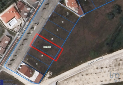 Building land, total area of 543.75 m2 with 271.5 m2 of deployment area and 326.25 m2 of g