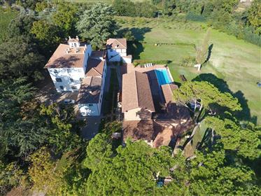 Villa storica con piscina vicino ad Arezzo