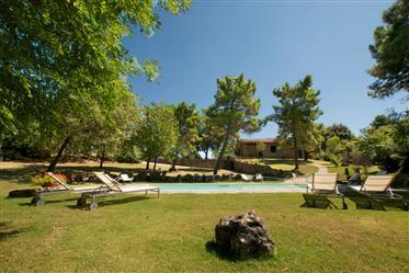 Vendesi incantevole casale con piscina nei pressi di Lucignano.