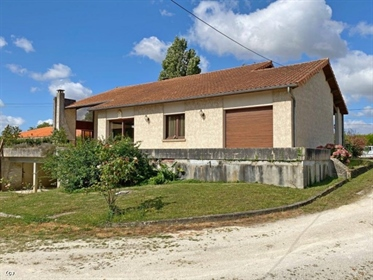 4 Bedroom 1970s Artichect Designed House and Gardens On The Outskirts Of Ruffec.