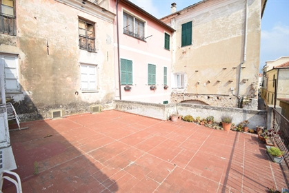 """In the heart of the ancient medieval village of Diano Castello, one of the """"most beautiful..."""