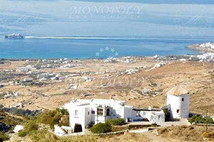 (Προς Πώληση) Μονοκατοικία με παλιό Ανεμόμυλο|| Κυκλάδες / Τήνος - 360 τ.μ, 4 Υ/Δ, 1.200.000€