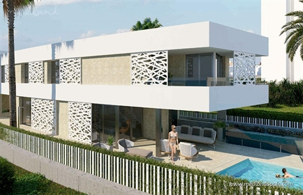 Promotion of luxury villas, only 200m from San Juan beach, one of the most prestigious bea