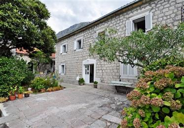 Renovated, charming old stone villa, first line by the sea with amazing views!