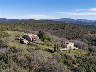 Magnificent Estate in the Val di Cecina, Monteverdi Marittimo, Pisa - Tuscany Splendid Est...