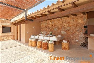 Neubau-Finca in Biniali mit Pool