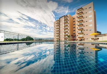 Lindo apartamento Mobiliado com 2 dormitórios (1 suíte)  à venda em  Atibaia/SP