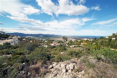 Terreno con vistas al mar en Monte Pego