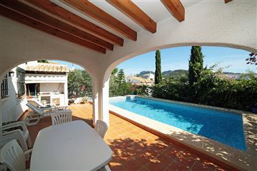 3 bedroom villa with pool in Monte Pego