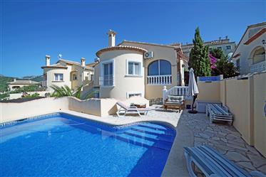 Charming villa with separate studio, private pool and sea vi...