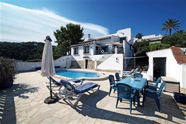 4 bedroom villa with panoramic sea view
