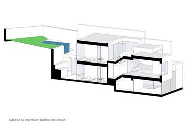 Moradia de design com 3 quartos e piscina perto da igreja de...