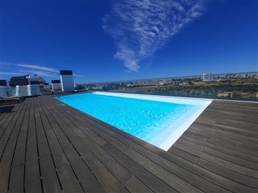 Luxe au dernier étage - terrasse privée de 77,65 m2 avec jacuzzi