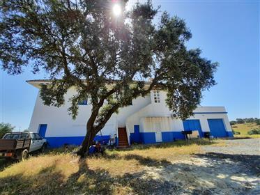 Herdade com 440 hectares, ideal para Turismo, com couto de Caça, Montado e barragens