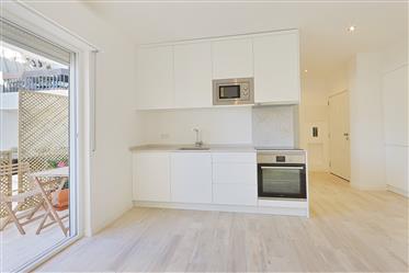 Apartamento T1 totalmente remodelado
