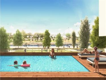 Apartamento T3 no primeiro condomínio privado com piscina em...