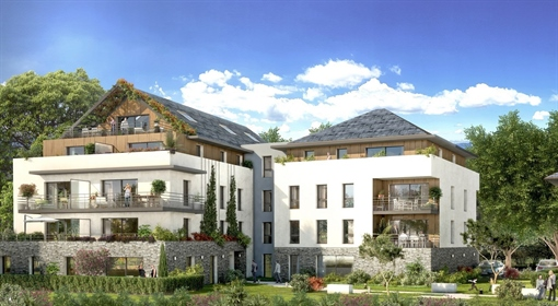 New Residence At The Heart Of Divonne from 316,000 euros