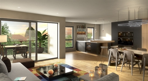 F New Residence At The Heart Of Divonne from 316,000 euros