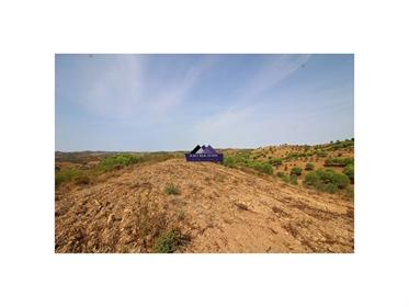 Terreno rústico com uma área total de 61.280m2 na freguesia do Azinhal
