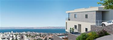 Amazing Villa in Tiberias with a view on the Galilee sea