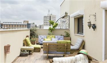 For Rent - Amazing roof apartment in Jaffa