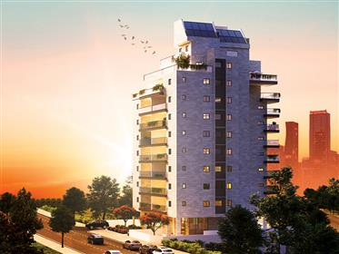 In the center of Rishon Letsion, a new boutique residential project