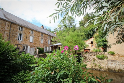 Restored mill with water rights, beautiful place !