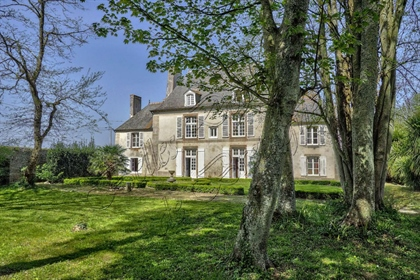 For sale beautiful and listed Malouinière with outbuildings, Ille et Vilaine, Brittany