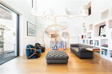 Príncipe Real 13 - Luxo e conforto em edifício unifamiliar T4+2, com jardim e piscina, em pleno Prín