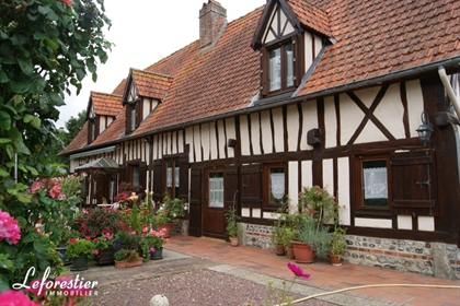 Country cottage with stables and meadows in Auffay near Dieppe 5048