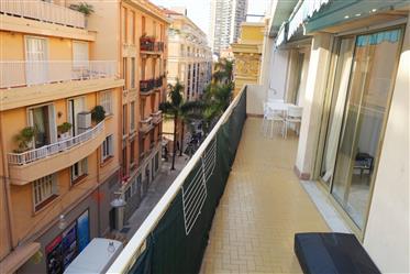 Limitrophe Monaco, terrasse de 20m²