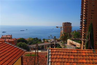 Border Monaco, house with sea view