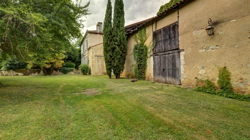 Character Stone Mansion For Sale In Gascony (Le Gers) - 5 Bedroom(S) - 0.82 Ha Of Land
