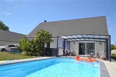 Maison avec piscine proche Veules les roses