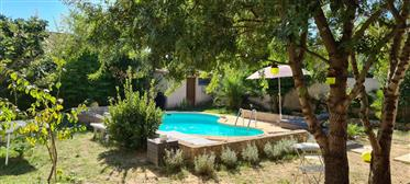 Narbonne – South of France Villa. Gardens and Plunge Pool
