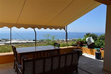 House of 300m2 in Koutsouras enjoying amazing sea views.