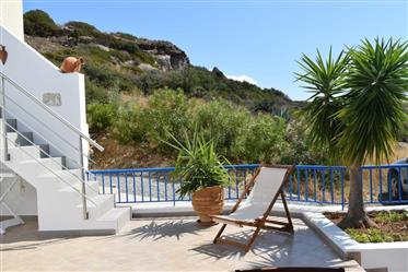 House on two floors approximately 85m2 enjoying stunning sea views.