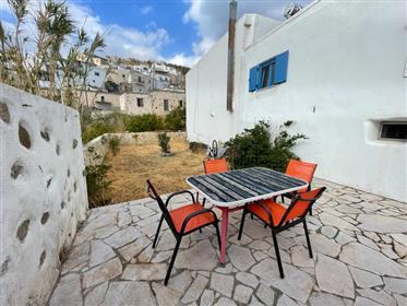 Agios Stefanos-Makrigialos: Twi storey house of 75m2 just 7 km from the sea.