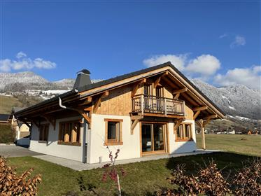 "At 20 minutes to Les Gets – Porte du Soleil and 10 minutes to Morillon Grand Massif, the chalet ""My"