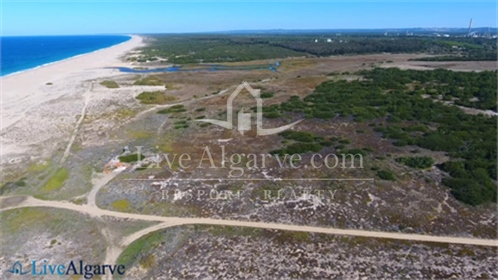 Oceanfront Property with Building Permit near Sines
