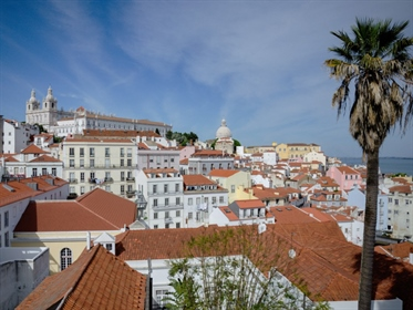 Two-Bedroom Apartment with Terrace for Sale in Alfama, Lisbon