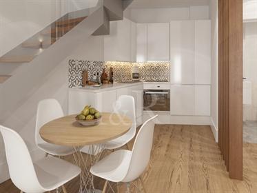 Apartamento T0+1 com terraço em Vila Nova de Gaia