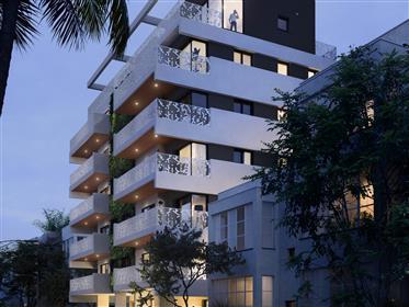 למכירה דירת יוקרה מרווחת בבניין חדש, מיקום שקט ויוקרתי - פסיעה מהים, בן יהודה, דיזינגוף