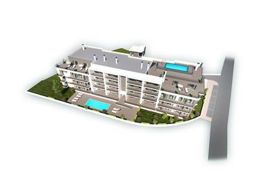 Appartement de 2 chambres, au rez-de-chaussée avec terrasse privée, à São Martinho do Porto
